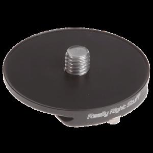Really Right Stuff TH-DVTL-55 runde Schnellwechselplatte bis 70mm, das Bideglied zwischen Klemme und Stativkopf